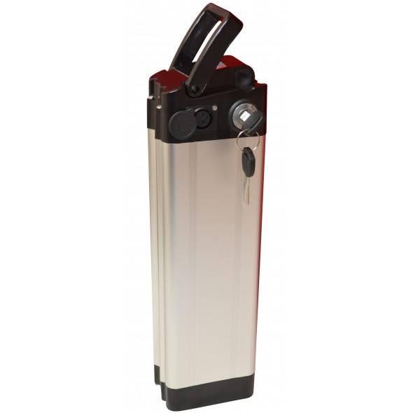 Batterie HILLTECKS 36V 10Ah Gris/Noir