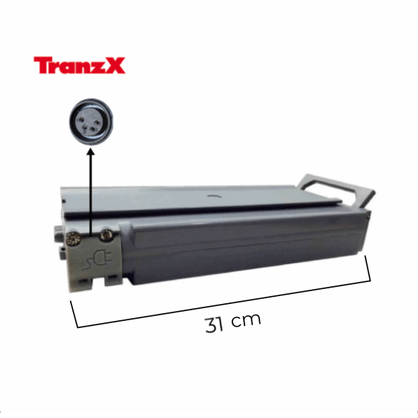 Batterie TRANZX BL03 24V 11 Ah Grise