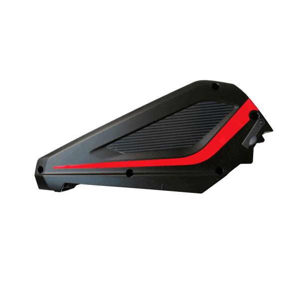 Batterie Deluxe Panasonic 48V 8Ah vollblut noir cadre