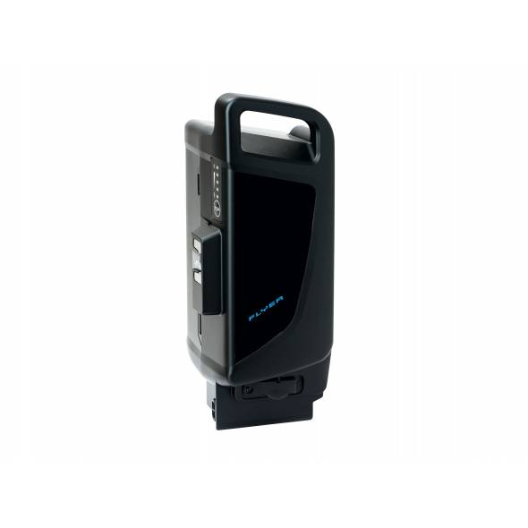 Batterie Panasonic Next-Generation 36V 15Ah tube de selle noir/ bleu