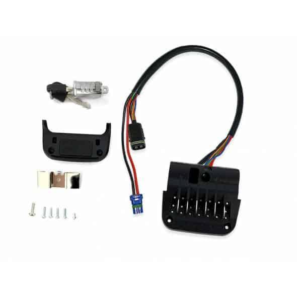 Kit de montage pour batterie UR-V7 avec Nuvinci Noir mat