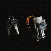 Barillet + clé pour batterie Silverfish