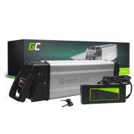 Batterie Tige de selle Green Cell Pedelec 24V 12Ah