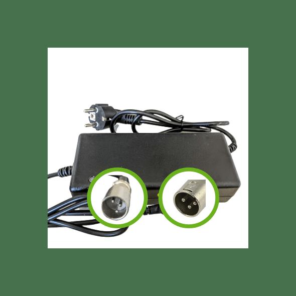 Chargeur Lithium Ion 24V2A - Embout XLR Mâle