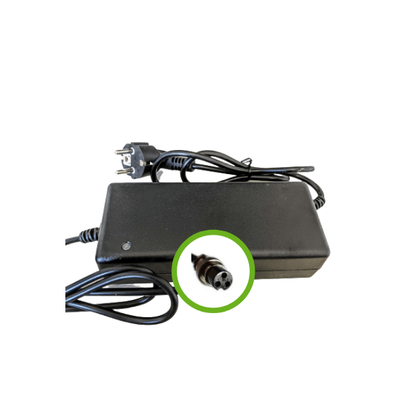 Chargeur Lithium Ion 24V2A - Embout 18M3P