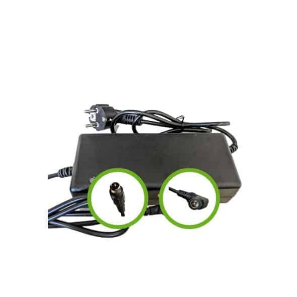 Chargeur Lithium Ion 36V2A pour batterie de vélo électrique - RCA