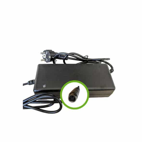 Chargeur Lithium Ion 48V2A- Embout XLR Femelle