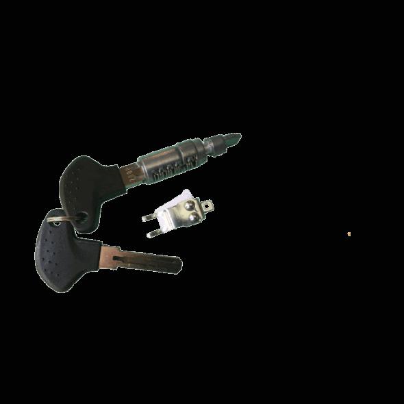 Barillet + clés pour batterie TranzX BL07